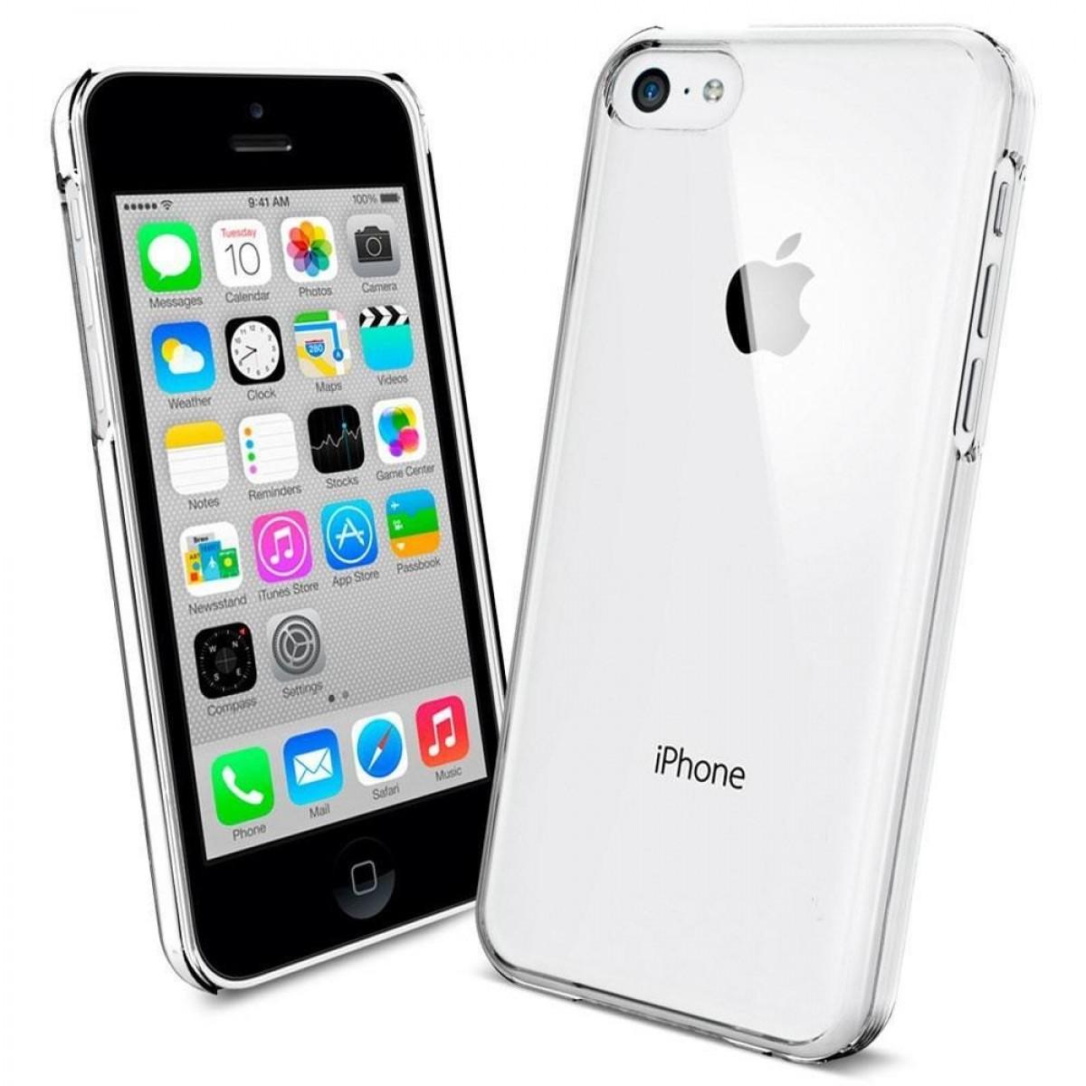muhuu importados capa iphone 5c transparente silicone. Black Bedroom Furniture Sets. Home Design Ideas